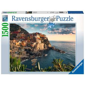 "Ravensburger Erwachsenenpuzzle ""Blick auf Cinque Terre"" 1.500 Teile ab 14 Jahre Puzzle von Ravensburger"