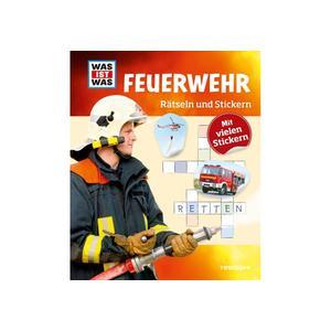Tessloff WIW Rätseln und Stickern: Feuerwehr (66905888)