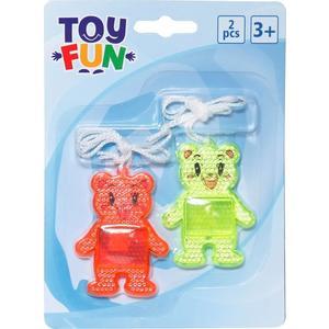 Toy Fun TOF Reflektor Bären 2 Stück,W135xH182mm (86596211)