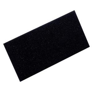 Zellgummiauflage L280xB140xS10mm schwarz
