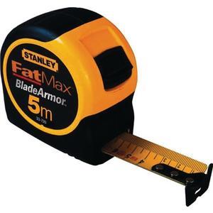 STANLEY Taschenrollbandmaß FatMax Länge 5 m Breite 32 mm mm/cm EG II Kunststoff Feststeller