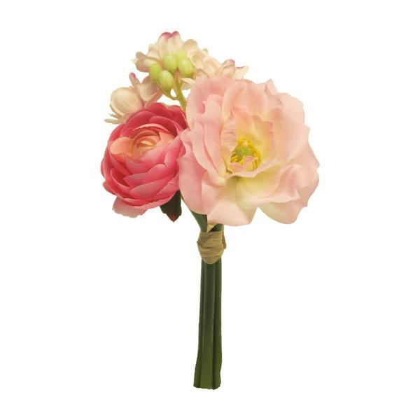 Multipack Bund Frühjahrsblumen rosa 20cm - 24 Stück