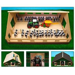 Kids Globe Viehstall (610540) Bauernhof 1:32 passend für Siku