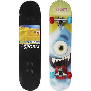 New Sports NSP Skateboard Cyclops, LED Räder, L78cm (73415799)