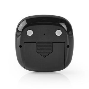 Nedis Küchenuhr / Digitaler Bildschirm / erfoderliche Batterien ( nicht enthalten): 2x AAA / Schwarz/Silber