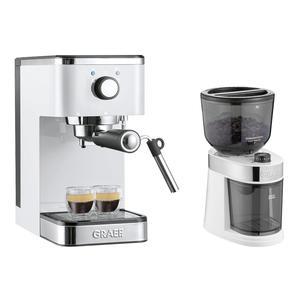 GRAEF Siebträger-Espressomaschine ES 401 salita mit Kaffeemühle CM 201 ()