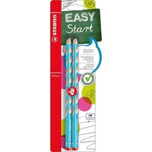 Stabilo, Dreikant-Bleistifte HB, EasyGraph (PETROL_L)