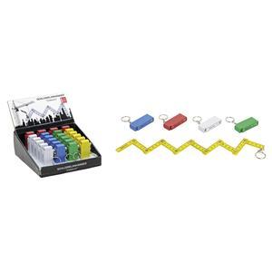 Multipack Schlüsselanhänger Zollstock (10012879) - 24 Stück