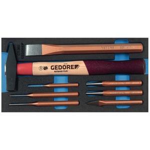 GEDORE Werkzeugmodul 1500 CT1-350 8-teilig 1/3-Modul Schlagwerkzeugsatz