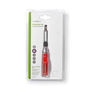 Nedis Werkzeugsatz / 12-in-1 / zur PC-, Smartphone- und Tablet-Reparatur