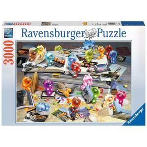 """Ravensburger Erwachsenenpuzzle """"Gelini auf Reisen"""" 3.000 Teile ab 14 Jahre Gelini Puzzle von Ravensburger"""