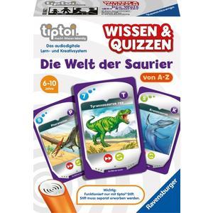 """Ravensburger tiptoi® Spiele """" Wissen und Quizzen: Die Welt der Saurier"""" 6 - 10 Jahre von Ravensburger"""