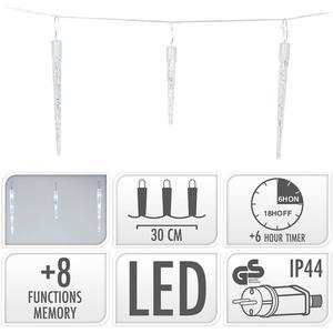 S.I.A ICICLE LIGHTING / 72 LED / 6.9 METER LIGHTING / WHITE
