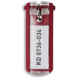 Schlüsselanhänger Key Clip rot Kunststoff