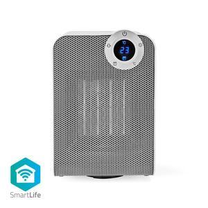 Nedis SmartLife Heizlüfter / WLAN / Kompakt / 1800 W / 3 Wärmeeinstellungen / Oszillation / Anzeige / 15 - 35 °C / Android™ & iOS / Weiss