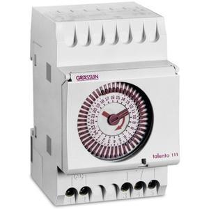 Grässlin Verteilerschaltuhr mechanisch 16A 1W 3TE 220-240VAC TALENTO111