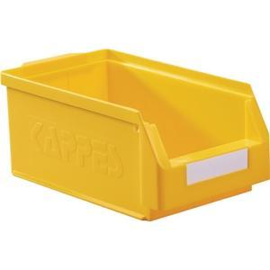 KAPPES Sichtlagerkasten L350xB200xH150mm PE gelb