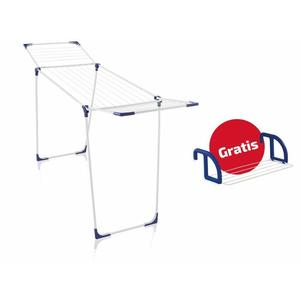 LEIFHEIT Wäscheständer Set Classic 180 Solid + HängetrocknerClassic 25 81646