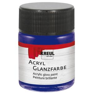 KREUL Acryl Glanzfarbe Dunkelblau 50 ml (79507)