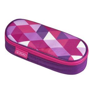 Herlitz Faulenzer Etui Pink Cubes (50021185)