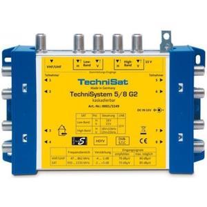 Technisat Switch TechniSwitch 5/8 G2 DC-NT Grundeinheit mit Netzteil (3234/3259)