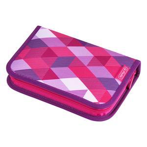 Herlitz Schüleretui 31 tlg. Pink Cubes (50020973)