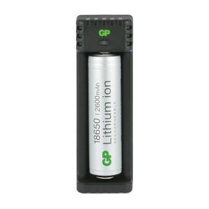 GP L111 USB Ladegerät inkl. Akku 18650 2600mAh 3,7V 14511118650B1