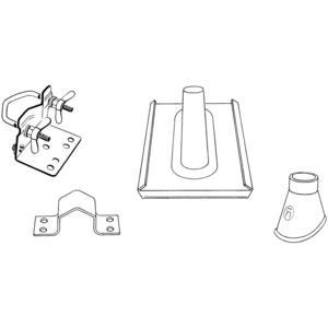 Triax Mast Zubehör Set für Rohre mit Ø 48 - 50 mm