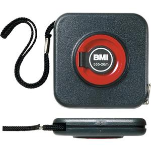 BMI Kapselbandmaß 555 Länge 30 m Bandbreite 10 mm mm/cm EG II Stahlmaßband