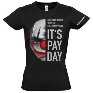 Payday 2 Girlie-Shirt Chains Mask M Englisch
