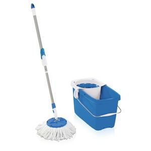 Leifheit Set CLEAN TWST Disc Mop pure blue (52076)