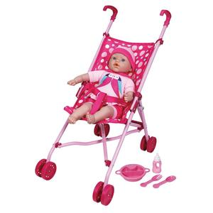 PUPPE MIT BUGGY 12516