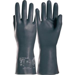 HONEYWELL Chemikalienhandschuhe Nitopren 717 Größe 10 dunkelgrau EN 388, EN 374 PSA-Kategorie III