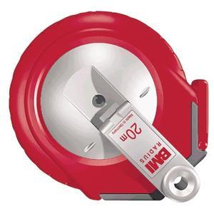 BMI Kapselbandmaß RADIUS Länge 25 m Bandbreite 13 mm cm EG II Kunststoff Glasfaser