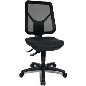 TOPSTAR Bürodrehstuhl mit Lendenwirbelstütze schwarz 430-510 mm ohne Armlehnen Tragfähigkeit 110 kg