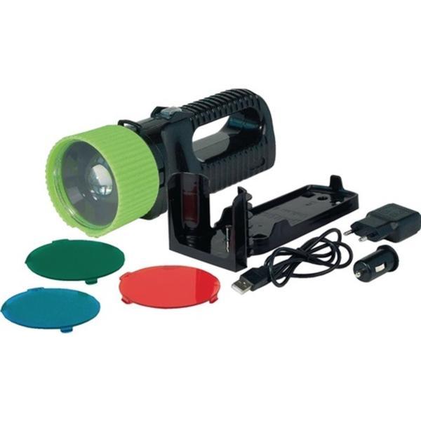 LED-Handscheinwerfer UniLux Pro AccuLux 3,7 V 4400 mAh Li-Ion 270 lm