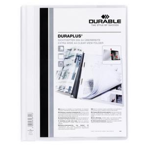 DURABLE Angebotshefter Duraplus Sichttasche weiß (257902)
