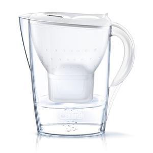 Brita Tischwasserfilter Marella 3 Kartuschen weiß 2,4 L Wasser filtern