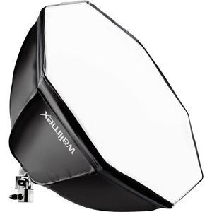 walimex Daylight 250 mit Octagon Softbox, Durchmesser 55 cm
