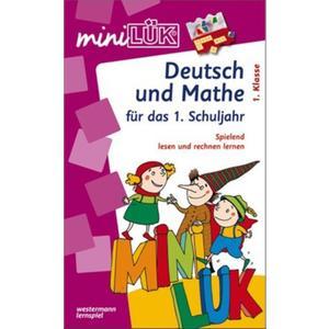 Mini-Lük ML Set Deutsch u. Mathe 1.Kl. (65990873)