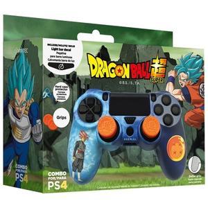 Dragon Ball Super PS4 Hardcover + Grips + LED Sticker Englisch