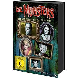 Die Munsters - Die komplette Serie (Keepcase) (14 DVDs)