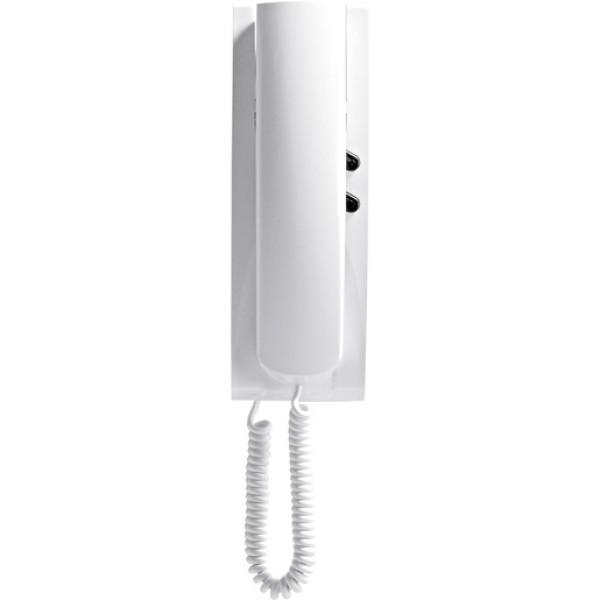 Elvox AP Haustelefon mit Sprechtaste weiß