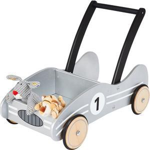 Pinolino Lauflernwagen Kimi silber aus Holz (42804649)