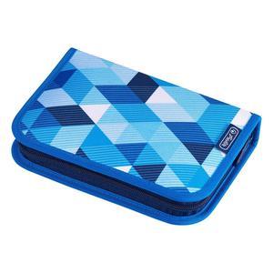 Herlitz Schüleretui 31 tlg. Blue Cubes (50021031)