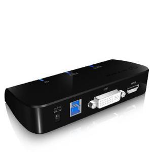 Icy Box Dockingstation IcyBox USB 3.0 -> HDMI/DVI/USB retail (IB-DK402)