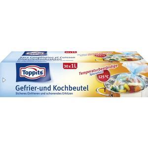 Toppits, Gefrier und Kochbeutel 1Liter 30Stück
