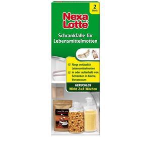 Nexa Lotte, Schrankfalle für Lebensmittelmotten, 2Stk