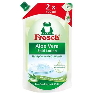 Erdal Frosch, Aloe Vera Spülmittel Nachfüllung, 800 ml