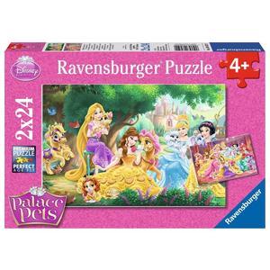 "Ravensburger Kinderpuzzle ""Beste Freunde der Prinzessinnen"" 24 Teile ab 4 Jahre Palace Pets Puzzle von Ravensburger"